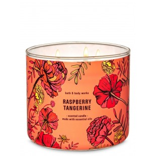 Rapberry Tangerine Bath & Body Works Bougie 3 Mèches