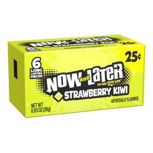 Now and Later Strawberry Kiwi