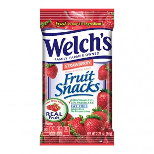 Welsh's Strawberry Fruit Snack