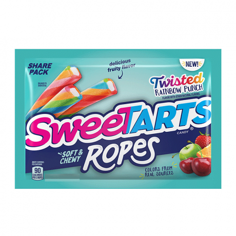 Wonka SweeTarts Soft & Chewy Rope Rainbow Punch