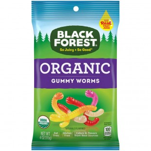 Organic Worms Black Forest