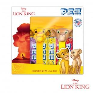 Coffret PEZ Roi Lion Simba et Nala
