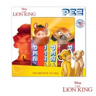 Coffret PEZ Le Roi Lion Timon et Pumba