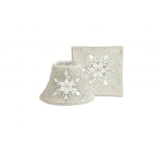 Twinkling Snowflake Abat Jour Et Plateau