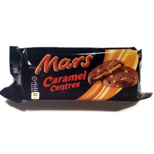 Mars Cookies Caramel Center