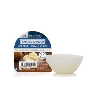 Coconut Rice Cream Fondant de Cire
