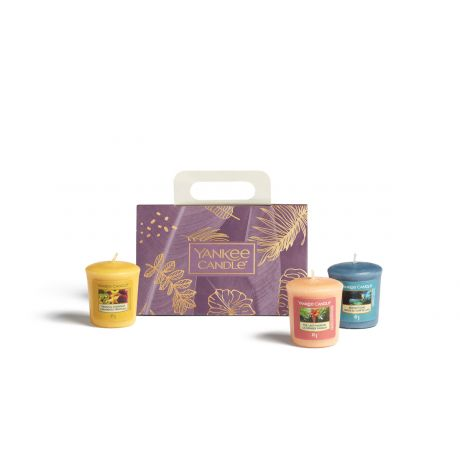 Coffret 3 Votives The Last Paradise