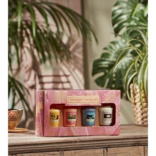 Coffret 4 Votives The Last Paradise
