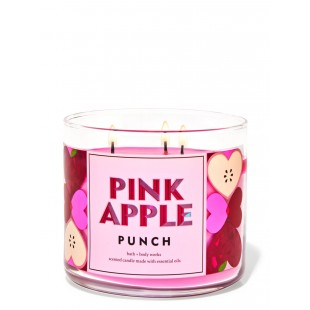 Pink Apple Bougie 3 Mèches