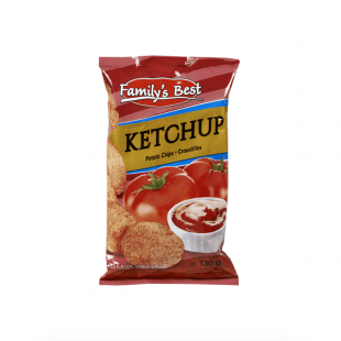 Chips Ketchup Family's Best