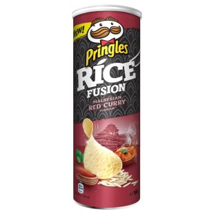 Pringles Rice Fusion Malaysian Red Curry