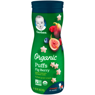 Gerber Organic Puffs Fig Berry