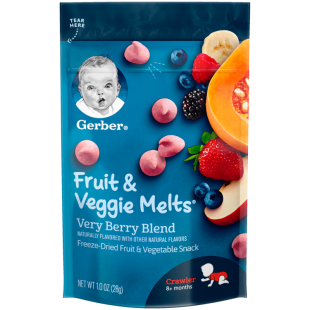 Gerber Very Berry Fruit and Veggie Melt
