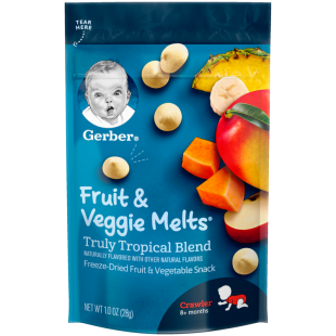 Gerber Tropical Blend Fruit and Veggie Melts
