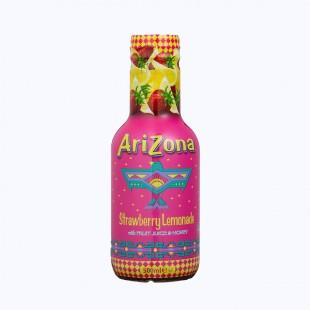 AriZona Strawberry Lemonade Cowboy Cocktail