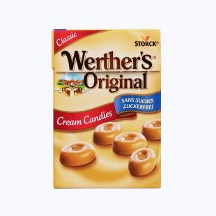 Werther's Original Cream Candies Sans Sucre 42g