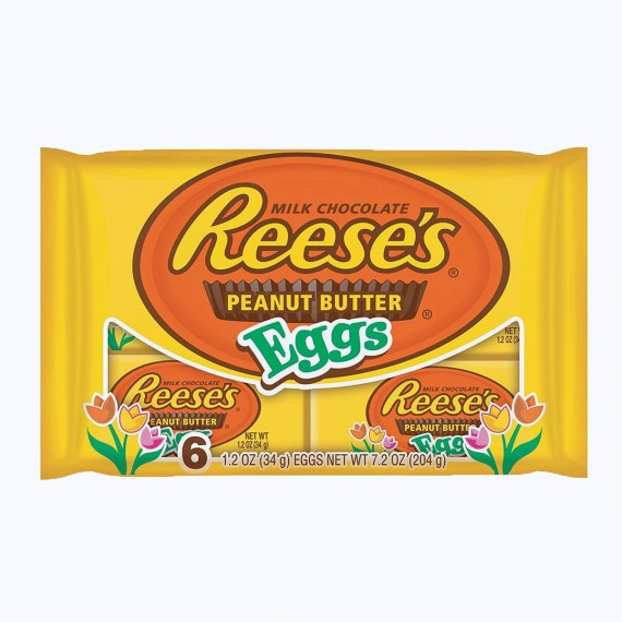 Reese's Peanut Butter Eggs x6