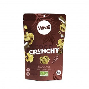 Vaïvaï - Coco crunchy cranberry & éclats de cacao