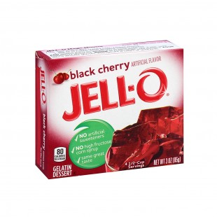 Jell-O Black Cherry
