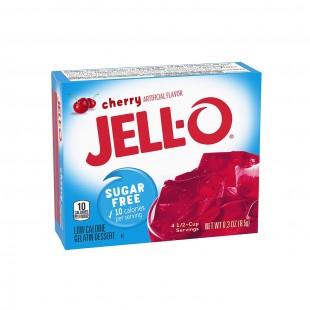 Jell-O Cherry Sugar Free