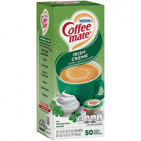 Coffee Mate Irish Creme Singles Creamer