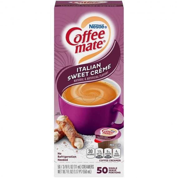 Coffee Mate Italian Sweet Creme Singles Creamer