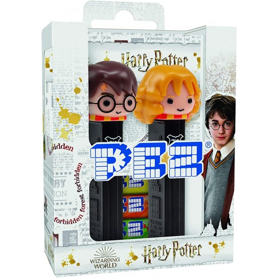 Coffret PEZ Harry Potter - Harry & Hermione
