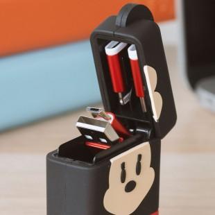 Minnie Cable Rétractable 3-en-1 PowerSquad