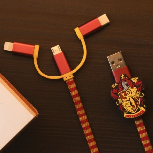 Cable Charge mobile Harry Potter Gryffindor
