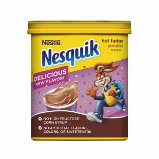 Nesquik Hot Fudge Sunday