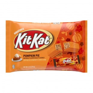 Kit Kat Pumpkin Pie Halloween USA