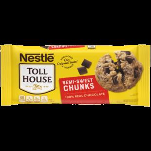 Semi-Sweet Chunks Toll House 680g