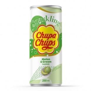 Chupa Chups Melon Creme Sparkling Soda 250ml