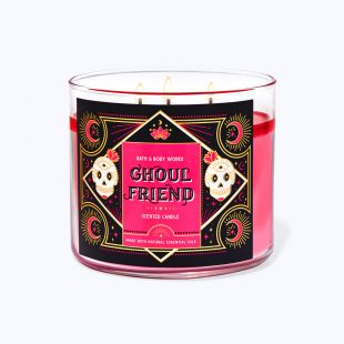 Ghoul Friend Bougie 3 Mèches