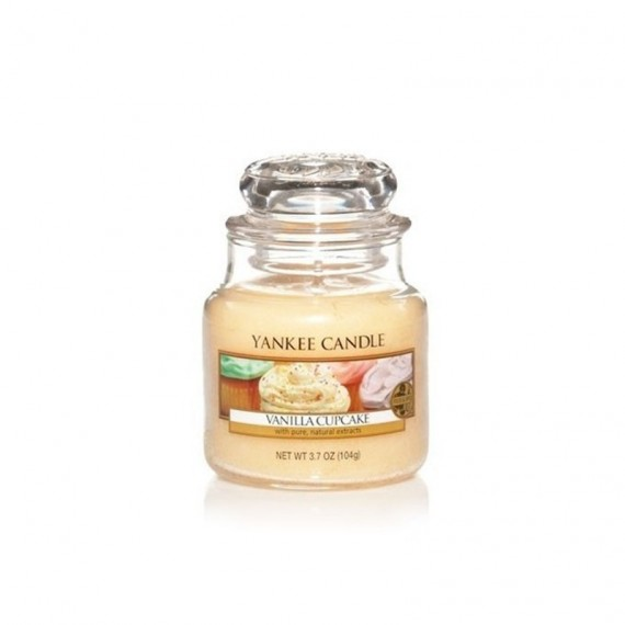 Yankee Candle Bougie Petite Jarre Vanilla CupCake