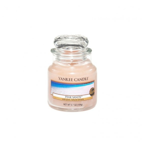 Bougie petite Jarre Pink Sand Yankee Candle