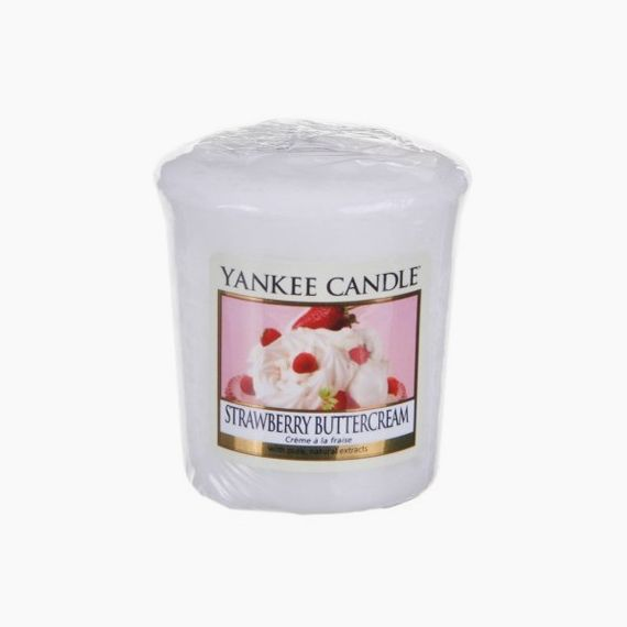 Yankee Candle Votive Strawberry ButterCream