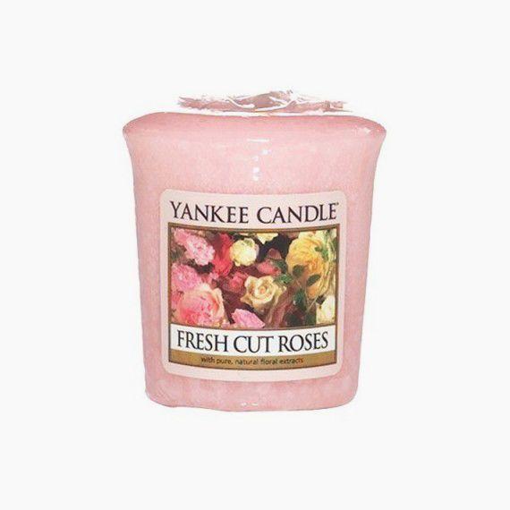 Yankee Candle Votive Fresh Cut Roses