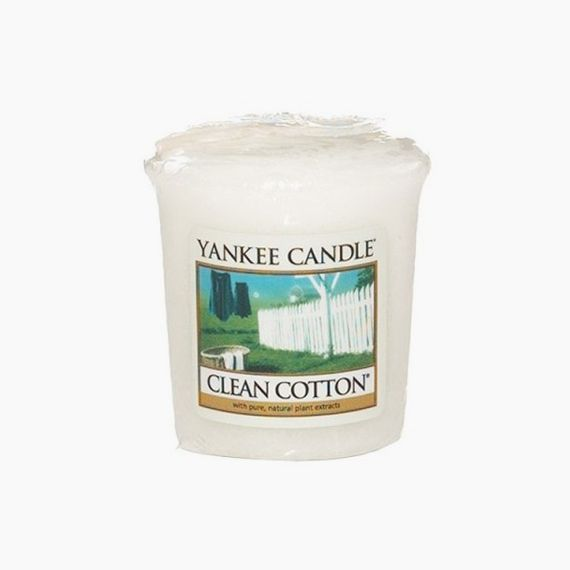 Yankee Candle Votive Clean Cotton