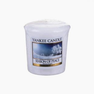 Votive Season of Peace Yankee Candle