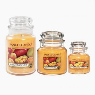 Yankee Candle Bougies Jarres Mango Peach Salsa