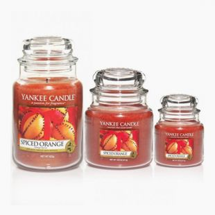 Jarres Spiced Orange Yankee Candle