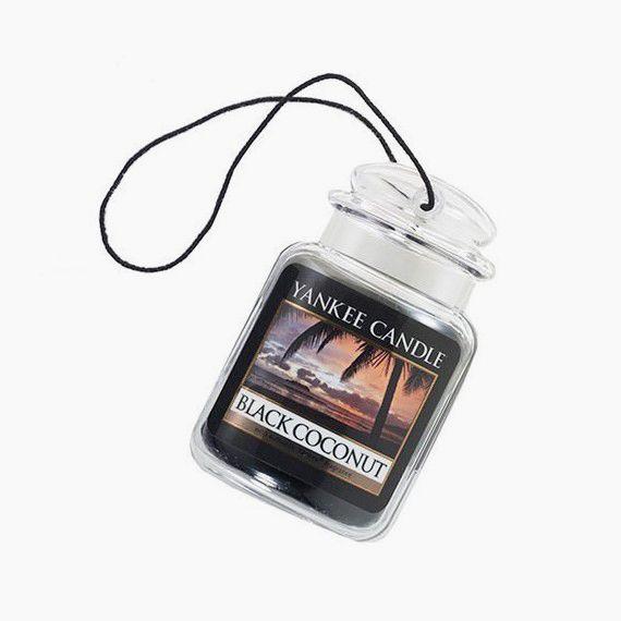 Yankee Candle Ultimate Car Jar Black Coconut