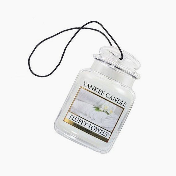 Yankee Candle Ultimate Car Jar Fluffy Towels
