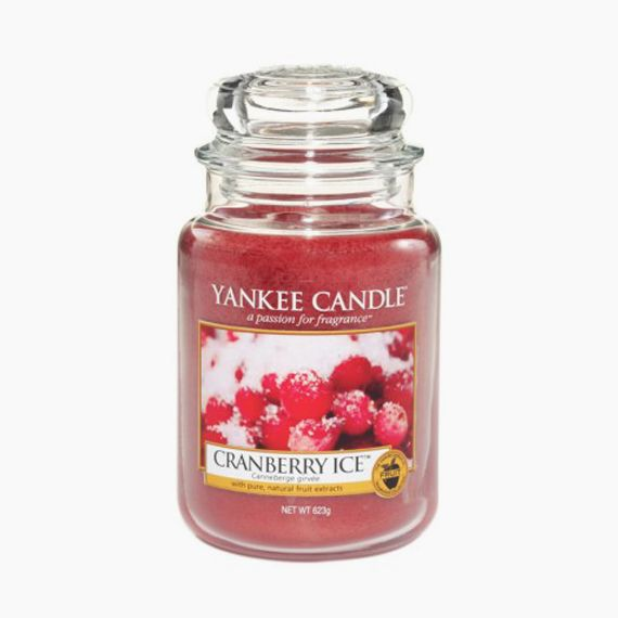 Cranberry Ice Bougie Jarre Yankee Candle