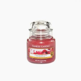Cranberry Ice Bougie Jarre
