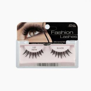 Fashion Lashes Ardell 102 Demi Black