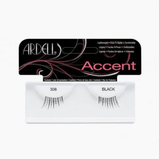 Faux Cils Accent Lashes 308 BLACK