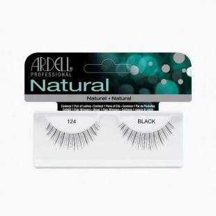 Faux Cils Natural Lashes 124 BLACK