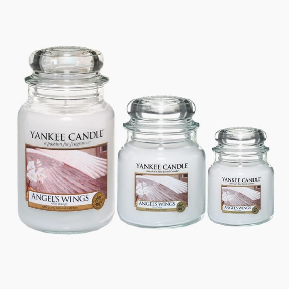 Angel Wings Bougie Jarre Yankee Candle